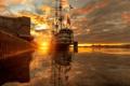 Картинка Санкт-Петербург, река, Август, Благодать