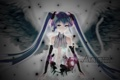 Картинка девушка, крылья, ангел, аниме, арт, vocaloid, hatsune miku