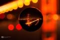 Картинка макро, мост, огни, линза, photographer, Kenji Yamamura