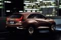 Картинка машина, Concept, ночь, огни, Acura, SUV-X