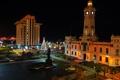 Картинка здание, Мексика, ночной город, Веракрус