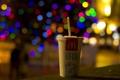 Картинка город, ночь, напиток