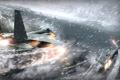 Картинка зима, снег, самолёты, tom clancys hawx