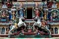 Картинка Малайзия, Kuala Lumpur, Malaysia, Куала-Лумпур, Храм Шри Махамариамман, Sri Mahamariamman Temple