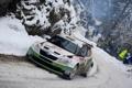 Картинка зима, Авто, Снег, Спорт, Люди, Rally, Skoda