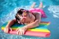 Картинка настроение, девочка, басейн