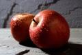 Картинка воды, капли, яблоки, яблоко
