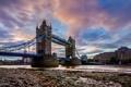 Картинка мост, город, река, Лондон