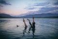 Картинка танец, caroline courtney, вода