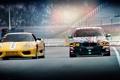Картинка Ferrari, BMW, E92, Трасса, F430, Тюнинг, Spider