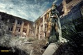 Картинка дом, оружие, дым, человек, SURVARIUM, Vostok Games