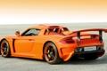 Картинка Porsche, supercar, Carrera GT, orange, Konigseder
