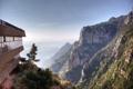 Картинка горы, вид, долина, отель, монастырь