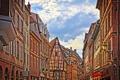Картинка Франция, дома, Кольмар, улица