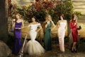 Картинка сериал, Отчаянные Домохозяйки, все главные актрисы, в Платьях