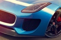 Картинка Concept, макро, Jaguar, фара, ягуар, перед, Project 7