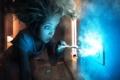 Картинка розетка, электричество, девочка