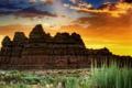 Картинка скалы, пустыня, каньон, Долина гоблинов