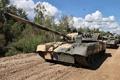 Картинка мощь, танк, Россия, колонна, Т-80 УД