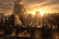 Картинка арт, Sunset on Babylon, Raphael Lacoste, Рафаэль Лакостэ