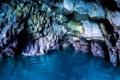 Картинка море, свет, скалы, пещера, грот