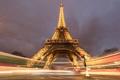 Картинка ночь, Париж, Tower, Electric, Eiffel