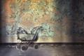Картинка комната, стена, коляска