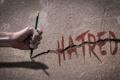 Картинка рука, карандаш, ненависть, Je suis Charlie, Я Чарли