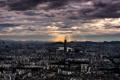 Картинка Korea, sunset in Seoul, Light up the Tower