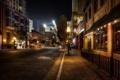 Картинка США, Калифорния, HDR, фото, фонари, ночь, улица
