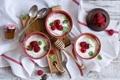 Картинка ягоды, малина, десерт