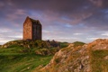 Картинка руины, Smailholm Tower, Scottish Borders, скалы, трава, башня