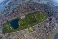 Картинка Нью-Йорк, небоскребы, New York, Центральный парк