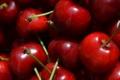 Картинка вишня, макро, ягоды