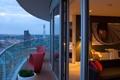 Картинка дизайн, дом, стиль, интерьер, балкон, пентхаус, жилое пространство