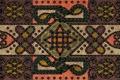 Картинка ковёр, тибетский, плетёный