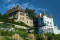 Картинка замок, Switzerland, Nyon