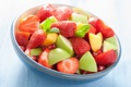 Картинка Apple, яблоко, клубника, персик, десерт, peach, strawberry