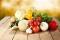 Картинка капуста, чеснок, овощи, редька, помидоры, перец, огурцы
