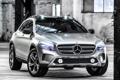 Картинка Concept, фары, Mercedes-Benz, большой, автомобиль, передок, GLA