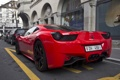 Картинка Ferrari, red, supercar, italia, Switzerland, Coupe, exotic