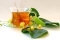 Картинка листья, цветы, чай, чашка, липа