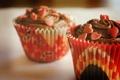 Картинка сердечки, десерт, выпечка, кексы