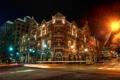 Картинка ночь, город, фото, HDR, фонари, США, Остин