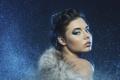 Картинка взгляд, девушка, губы, мех, photographer, личико, Julia Sariy
