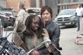 Картинка сериал, The Walking Dead, Ходячие мертвецы, Norman Reedus, Норман Ридус, Daryl Dixon, Michonne