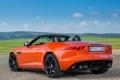 Картинка Jaguar, спорткар, кабриолет, вид сзади, F-Type, V8 S