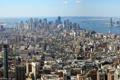 Картинка город, фото, Нью-Йорк, небоскребы, США, мегаполис