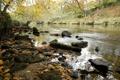 Картинка природа, река, берег