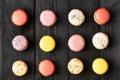Картинка colorful, печенье, десерт, sweet, dessert, cookies, macaron